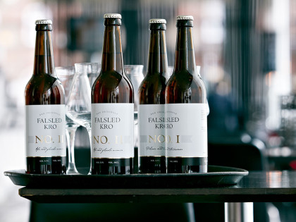 We are also brewing for Falsled Kro – a very prestigious Danish inn