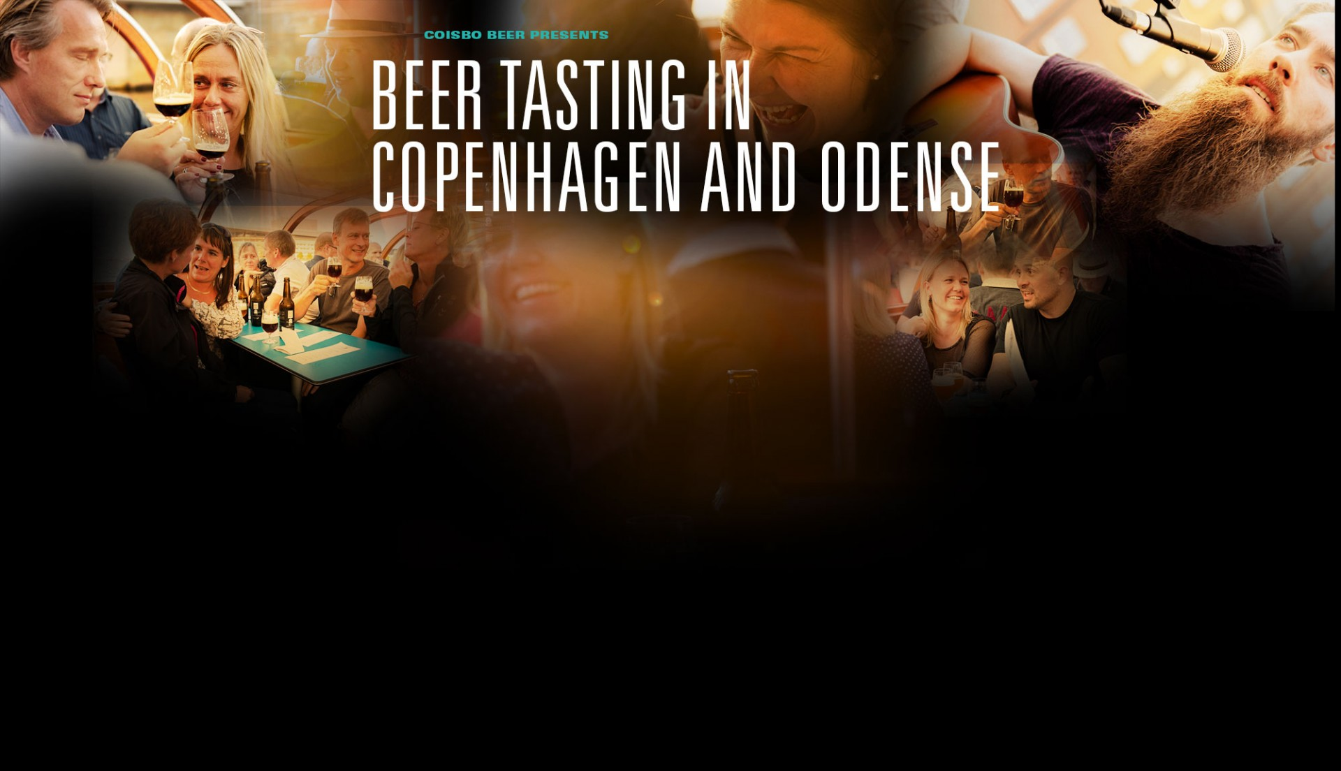 Beer tasting in Copenhagen and Odense