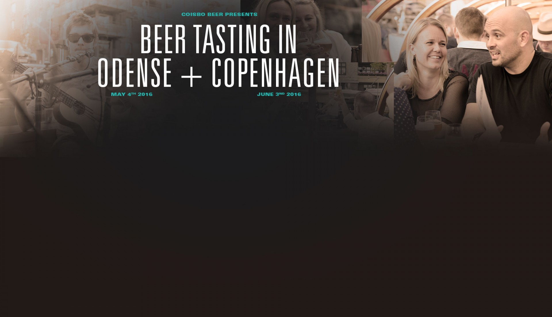 Beer tasting in Odense and Copenhagen in 2016